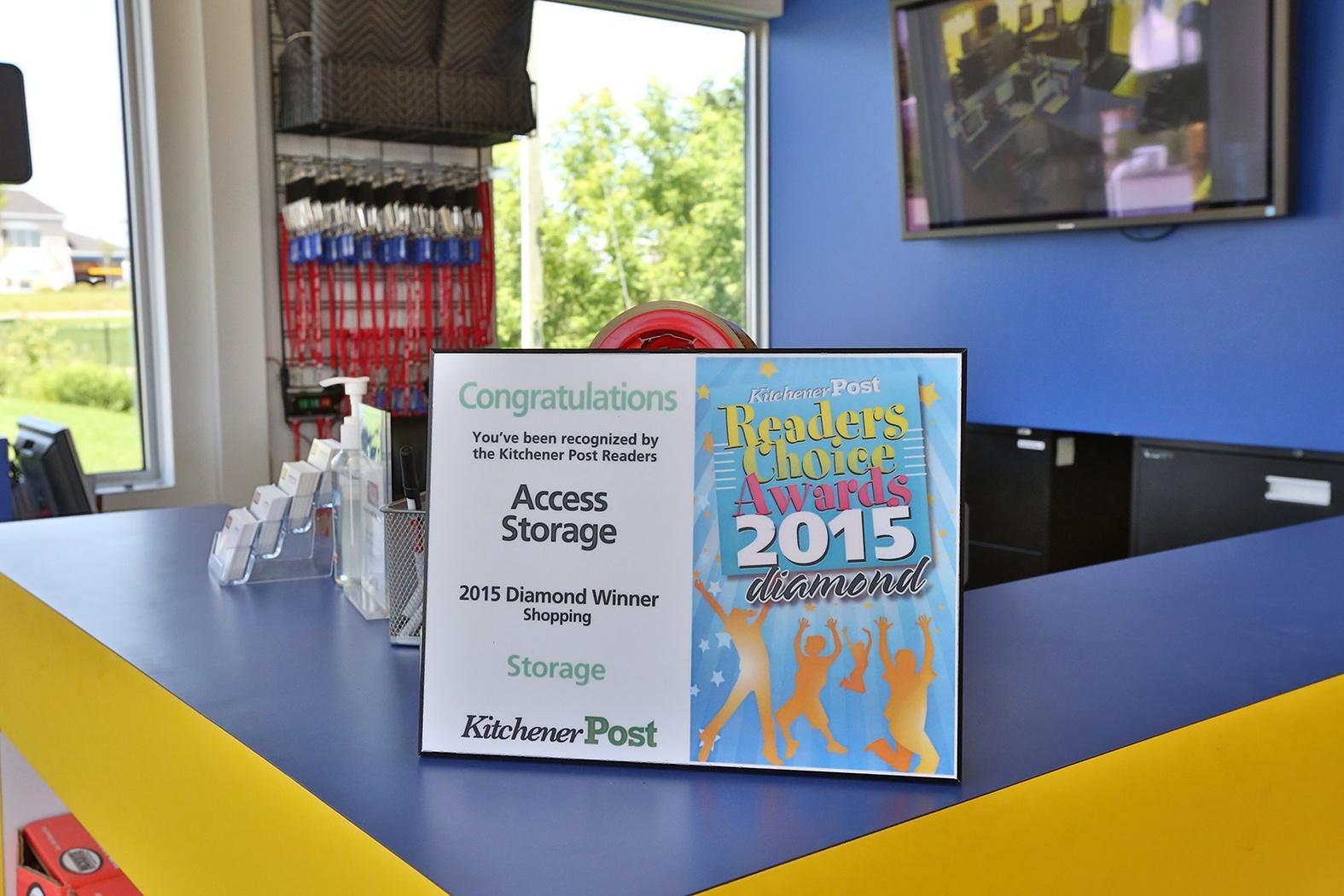 View More & Kitchener East Storage Units | Access Self Storage