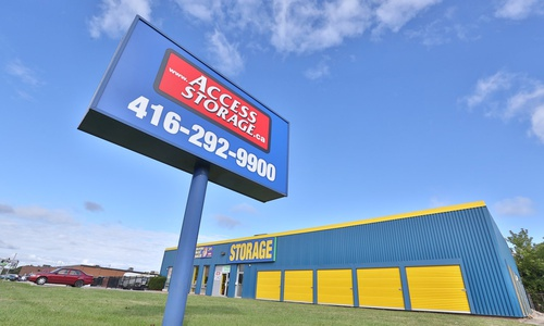 Access Storage - Scarborough Town Centre located at 1340 Ellesmere Rd. has a storage solution for you. Call to reserve today!