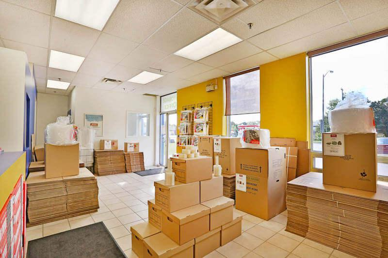 Rent Scarborough storage units at 1340 Ellesmere Rd. We offer a wide-range of affordable self storage units and your first 4 weeks are free!