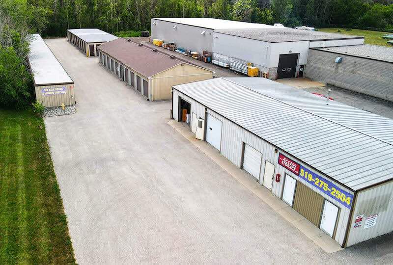 La succursale Access Storage – Stratford Sud, située au 31 Griffith Road Ouest, a la solution d'entreposage qu'il vous faut. Réservez dès aujourd'hui!