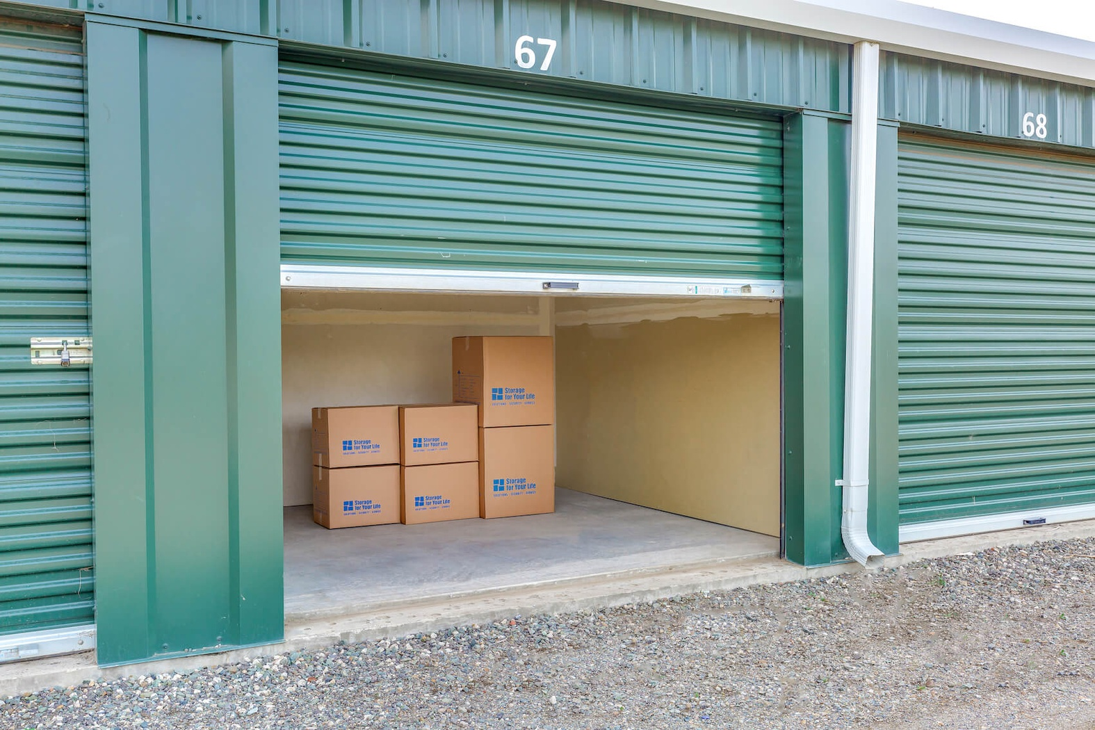 Rent Kamloops storage units at 1021 Ricardo Road. We offer a wide-range of affordable self storage units and your first 4 weeks are free!