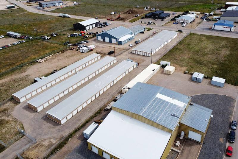 Rent Moose Jaw storage units at 16 Lancaster Rd. We offer a wide-range of affordable self storage units and your first 4 weeks are free!