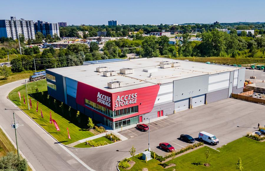 Rent Kitchener storage units at 49 Overland Dr. We offer a wide-range of affordable self storage units and your first 4 weeks are free!