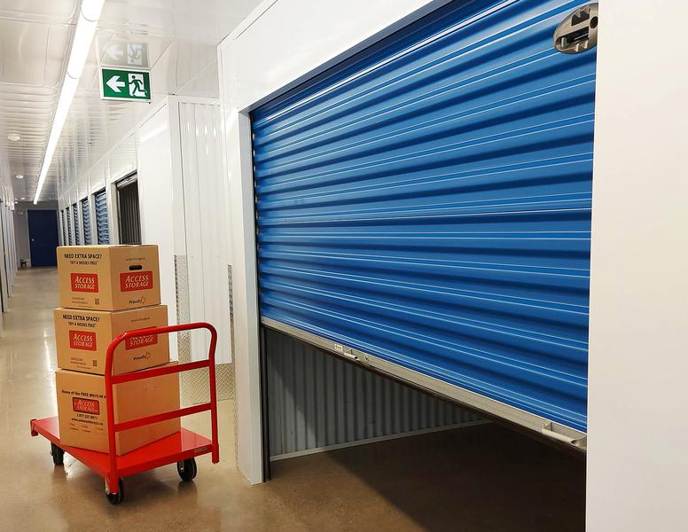 Rent Toronto Danforth storage units at 2 Kelvin Ave. We offer a wide-range of affordable self storage units and your first 4 weeks are free!