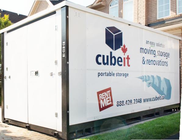 Cubeit container